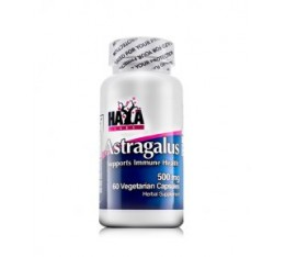 Haya Labs - Astragalus 500mg. / 60 Vcaps. Хранителни добавки, На билкова основа