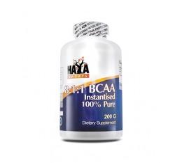 Haya Labs Sports - BCAA /2:1:1/ 200 caps. Хранителни добавки, Аминокиселини, Разклонена верига (BCAA)