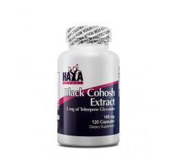 Haya Labs - Black Cohosh 100mg / 120 caps Хранителни добавки, Здраве и тонус, Формули за жени
