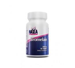 Haya Labs - Bromelain 500mg. / 60 Tabs. Хранителни добавки, Здраве и тонус, Ензими