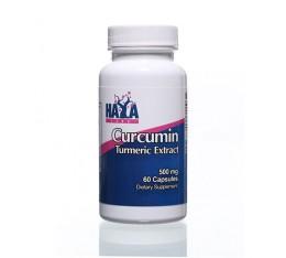 Haya Labs - Curcumin /Turmeric Extract/ 500mg. / 60 caps. Хранителни добавки, На билкова основа