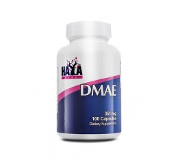 Haya Labs - DMAE 351mg. / 90 Caps. Хранителни добавки, Здраве и тонус, В подкрепа на мисловната дейност