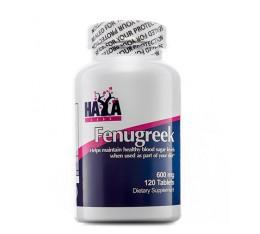 Haya Labs - Fenugreek 600 mg / 120 tabs. Хранителни добавки, На билкова основа