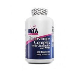 Haya Labs - Glucosamine Chondroitin & MSM Complex / 240 caps Хранителни добавки, За стави и сухожилия