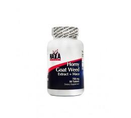 Haya Labs - Horny Goat Weed Extract 750 mg + MACA / 90 tabs. Хранителни добавки, На билкова основа