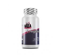 Haya Labs - L-Arginine 500mg / 100 caps Хранителни добавки, Аминокиселини, Аргинин