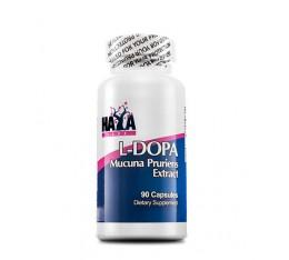 Haya Labs - L-DOPA / Mucuna Pruriens Extract / 90 caps. Хранителни добавки, На билкова основа