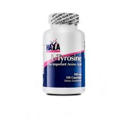 Haya Labs - L-Tyrosine 500mg / 100 caps Хранителни добавки, Аминокиселини, Тирозин