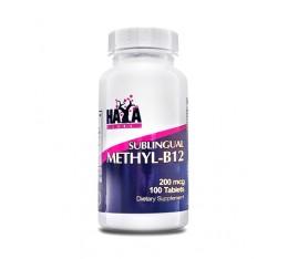 Haya Labs - Methyl-B12 200mcg. / 100 tabs.