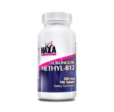 Haya Labs - Methyl-B12 200mcg. / 100 tabs.