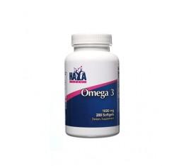 Haya Labs - Omega 3 1000mg. / 200 Softgels Хранителни добавки, Мастни киселини, Рибено масло