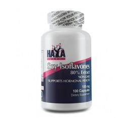 Haya Labs - Soy Isoflavones 80% Extract Non-Gmo 100mg. / 100 caps. Хранителни добавки, Здраве и тонус, Формули за жени