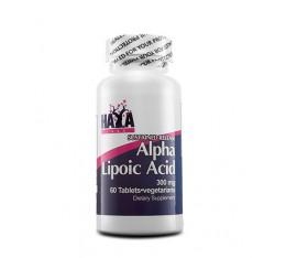 Haya Labs - Sustained Release Alpha Lipoic Acid / 60 tab Хранителни добавки, Антиоксиданти, Алфа-Липоева киселина