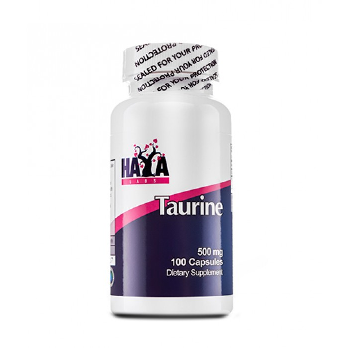 Haya Labs - Taurine 500mg / 100 caps
