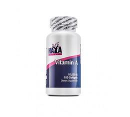 Haya Labs - Vitamin A 10,000 IU / 100 softgel caps Хранителни добавки, Витамини, минерали и др., Витамин A