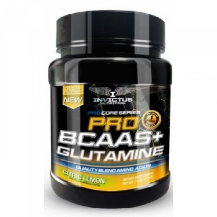 Invictus Nutrition - BCAA+Glutamine / 500 gr.