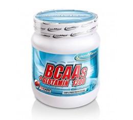 IronMaxx - BCAA + Glutamine 1200 / 260 Caps. Хранителни добавки, Аминокиселини, Разклонена верига (BCAA)