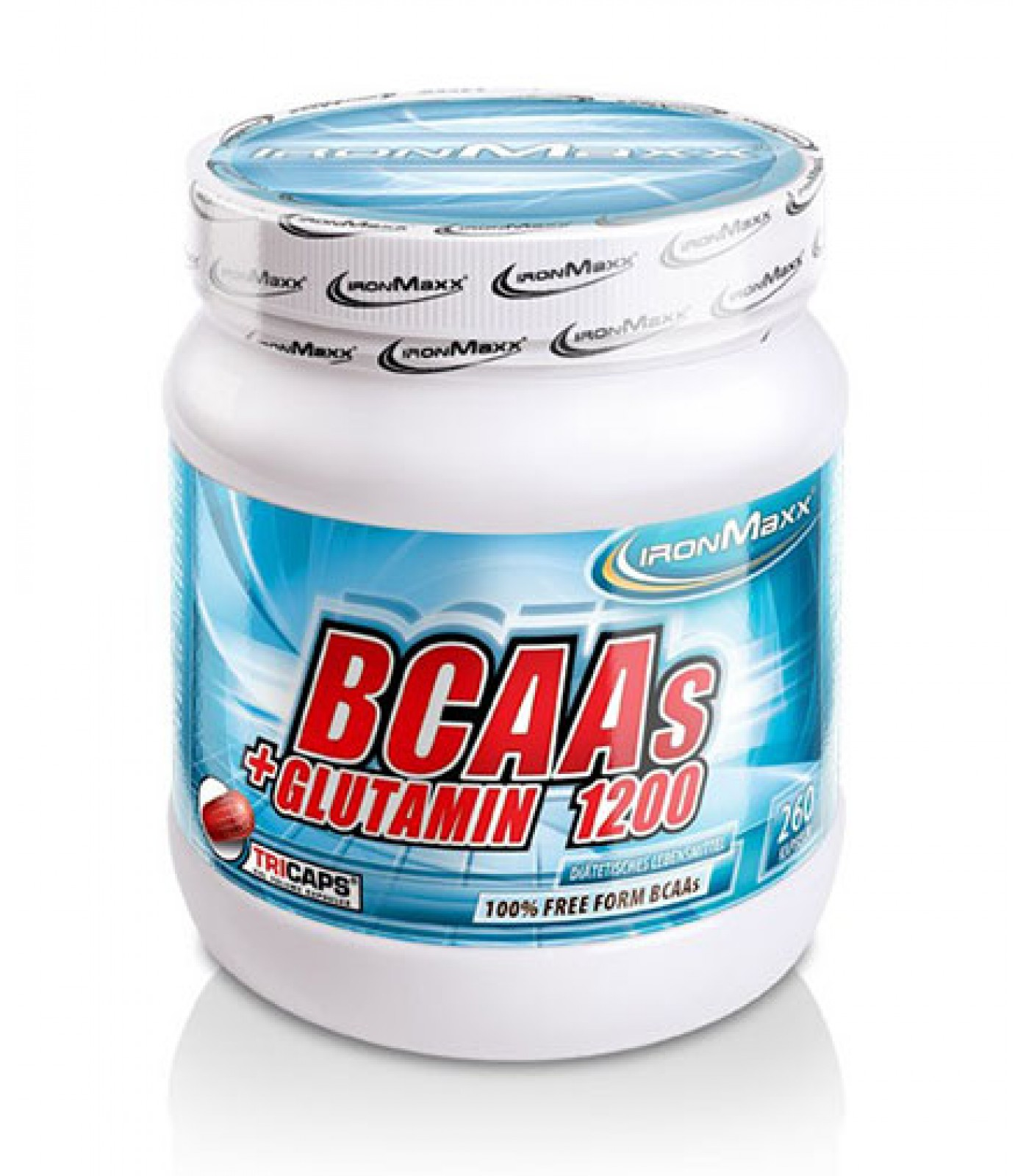 IronMaxx - BCAA + Glutamine 1200 / 260 Caps.