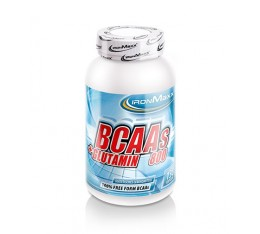 IronMaxx - BCAA + Glutamine 800 / 130 Caps. Хранителни добавки, Аминокиселини, Разклонена верига (BCAA)