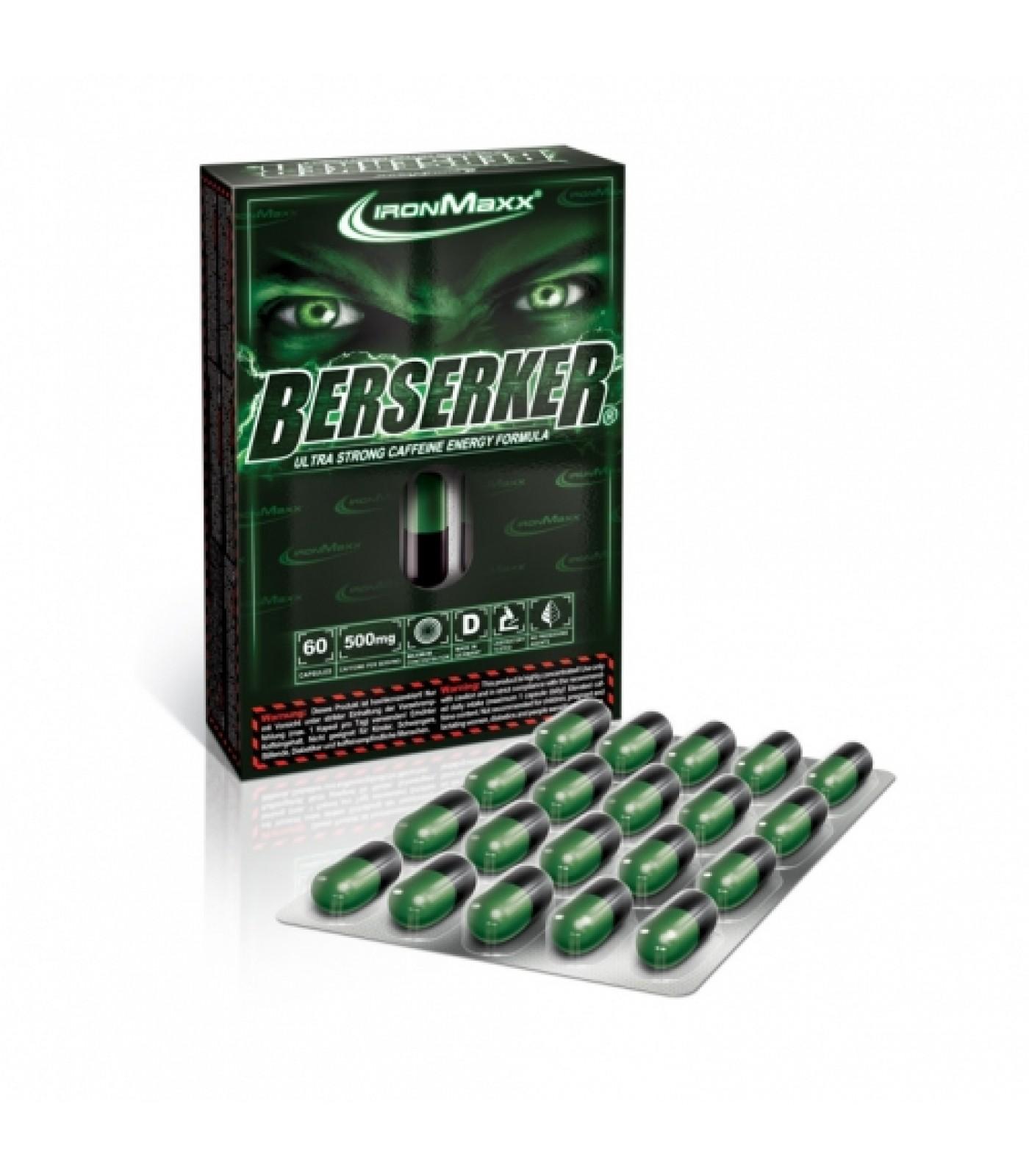 IronMaxx - Berserker / 60 Caps.