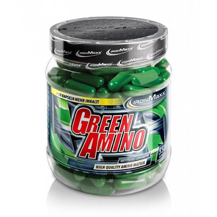 IronMaxx - Green Amino / 550 Caps
