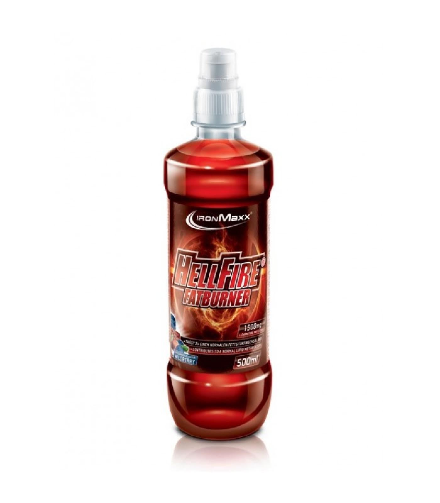 IronMaxx - Hellfire Fatburner Bottle / 18 x 500ml.