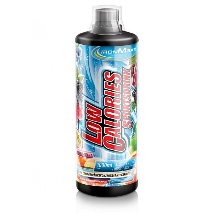 IronMaxx Low Calories Sportsdrink 1000ml (1:50) / Спортна напитка