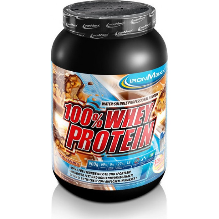 IronMaxx - 100% Whey Protein / 900gr.