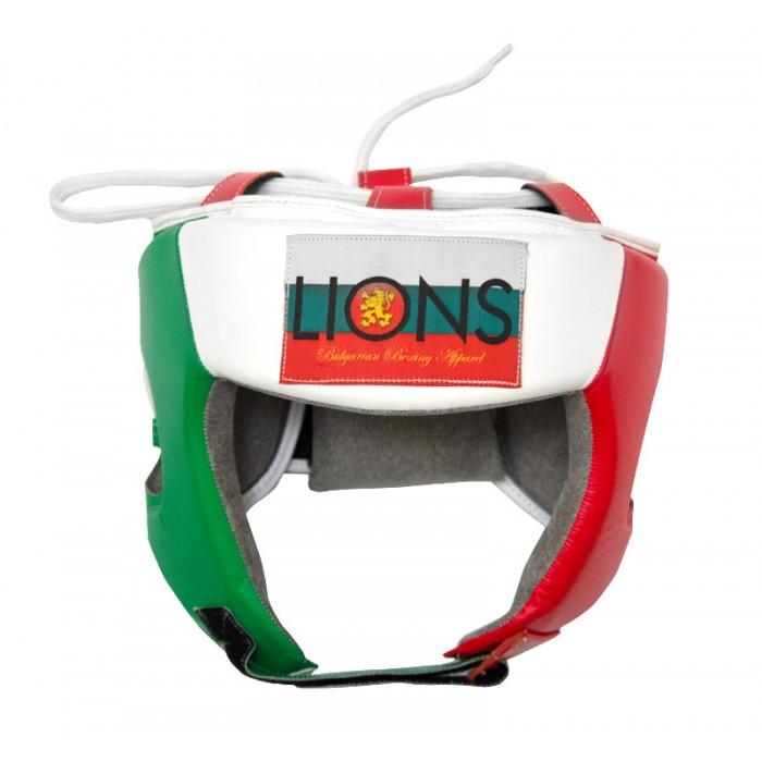 Lions-Competitor/Професионалeн Боксов шлем - естествена кожа