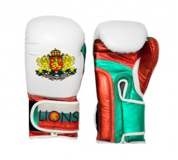 Lions - Боксови ръкавици естествена и еко кожа Боксови ръкавици