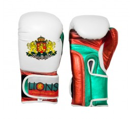 Lions - Боксови ръкавици (естествена кожа) Боксови ръкавици