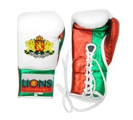 Lions - Боксови ръкавици с връзки Боксови ръкавици