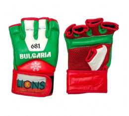 Lions - MMA ръкавици (естествена кожа) MMA/Граплинг ръкавици