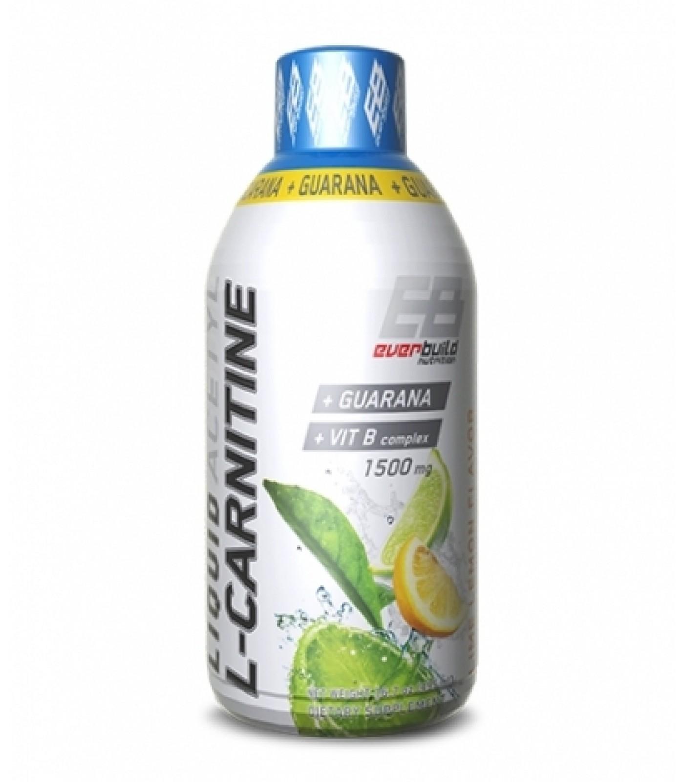 Everbuild - Liquid Acetyl L-Carnitine + Guarana / 495ml.