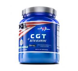 MEX - CGT + Beta Alanine / 600gr. Хранителни добавки, Аминокиселини, Креатинови продукти, Бета-Аланин, Глутамин, Таурин, Креатин Монохидрат