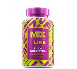 MEX - CLA + Green Tea / 90tabs. Хранителни добавки, Отслабване, CLA