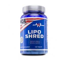 MEX - Lipo Shred / 120tabs. Хранителни добавки, Отслабване, Фет-Бърнари, Presents, ПОДАРЪЦИ, 400