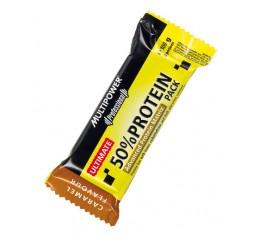 Multipower - 50% Protein Bar / 16 x100 gr. Хранителни добавки, Протеини, Протеинови барове