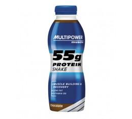 Multipower - 55g Protein Shake / 12 x 500ml. Хранителни добавки, Протеини, Казеинов протеин