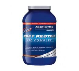Multipower - Whey Protein ISO Complex / 750gr Хранителни добавки, Протеини, Суроватъчен протеин