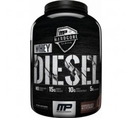 MP Hardcore Line - Whey Diesel Black / 4lbs.​