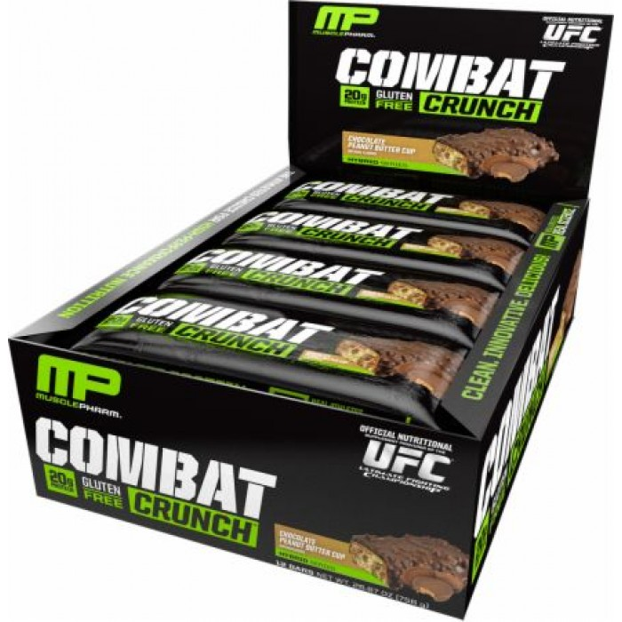Muscle Pharm - Combat Crunch Bar / 12 x 63 gr.