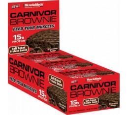 MuscleMeds - Carnivor Brownie / 12 x 52 gr. Хранителни добавки, Протеини, Протеинови барове и храни