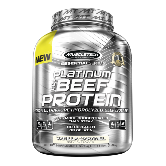 MuscleTech - Platinum Beef Protein / 4lbs