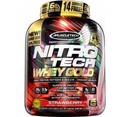 MuscleTech - Nitro-Tech Performance Gold / 5lbs Хранителни добавки, Протеини, Суроватъчен протеин
