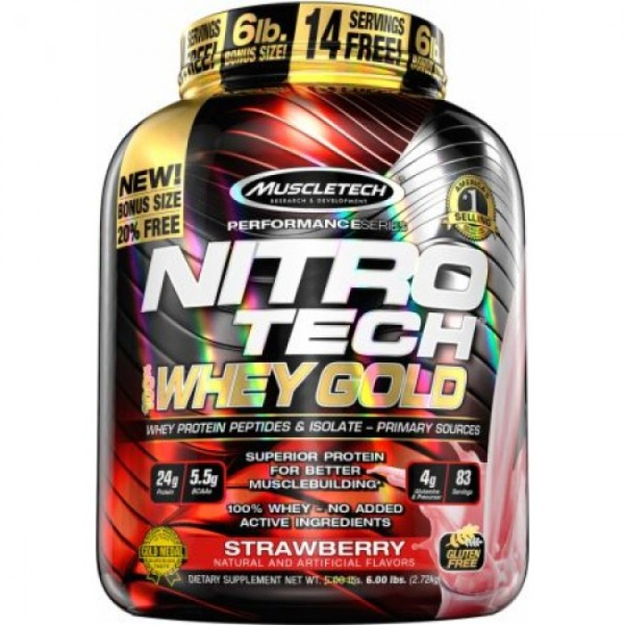 MuscleTech - Nitro-Tech Performance Gold / 6lbs​