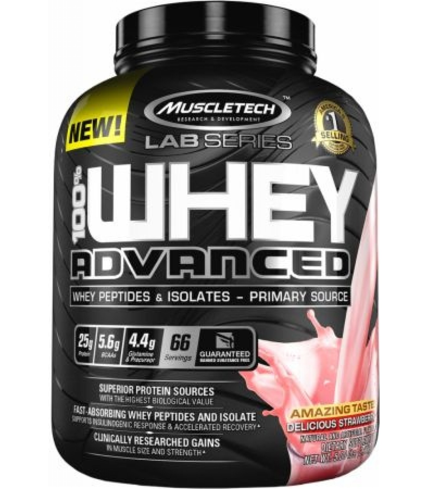 MuscleTech Lab Series - 100% Whey Advanced / 5lbs.