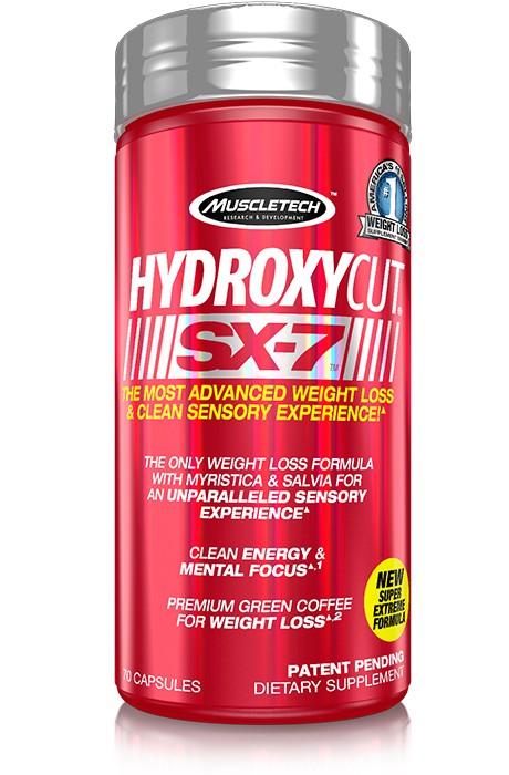 MuscleTech - Hydroxycut SX-7 / 140 caps.
