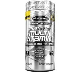 MuscleTech - Platinum MultiVitamin / 90caps. Хранителни добавки, Витамини, минерали и др., Мултивитамини