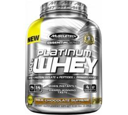 MuscleTech - Platinum 100% Whey / 2280 gr. Хранителни добавки, Протеини, Суроватъчен протеин
